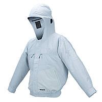 Акумуляторна куртка з вентиляцією Makita DFJ207ZM