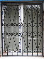 Раздвижные решетки на двери гармошка