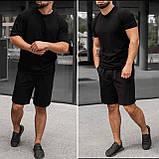 Мужской стильный легкий удобный летний спортивный костюм шорты и футболка много цветов, фото 7