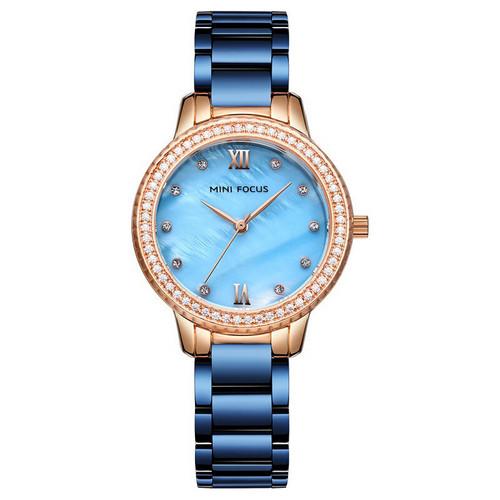 Mini Focus MF0226L Blue-Gold Diamonds