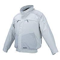 Аккумуляторная куртка с вентиляцией и плечевыми накладками Makita DFJ 405 ZM