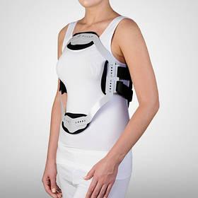 Корсет алюминиевый для фиксации позвоночника (JWEET) с тканевым покрытием - Ersamed SL-912