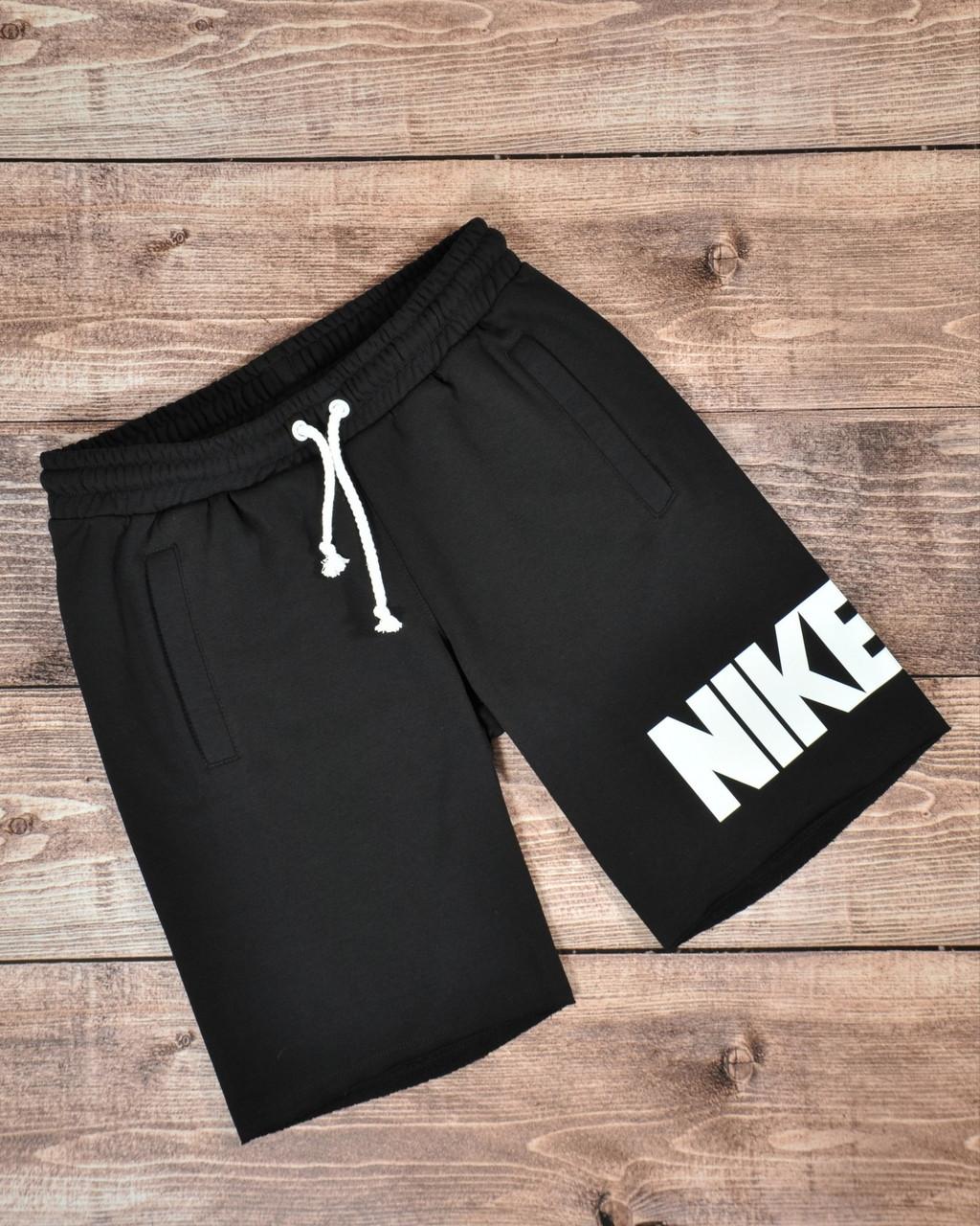 Чоловічі спортивні чорні шорти