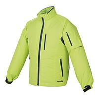 Акумуляторна куртка з вентиляцією Makita LXT/CXT, 10,8-18В (XL) DFJ212ZXL