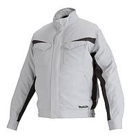 Аккумуляторная куртка с вентиляцией Makita LXT/CXT, 10,8-18В (XL) DFJ213ZXL