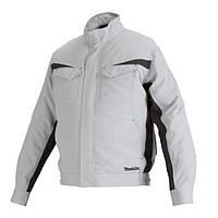 Акумуляторна куртка з вентиляцією Makita LXT/CXT, 10,8-18В (XL) DFJ213ZXL