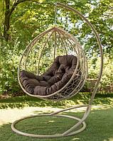 Підвісне крісло кокон для будинку й саду