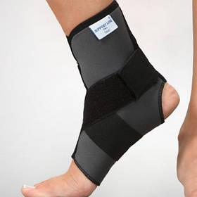 Бандаж неопреновий на гомілковостопний суглоб з додатковим фіксуючим ременем - Ersamed REF-401