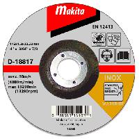 Отрезной диск по нержавейке вогнутый Makita 115 мм (D-18817)