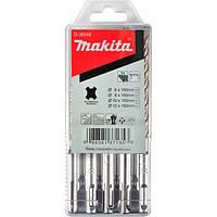 Набір свердел SDS-Plus, 5 шт Makita (D-36049)