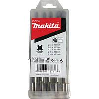 Набір свердел SDS-Plus 5 шт. Makita (D-20703)