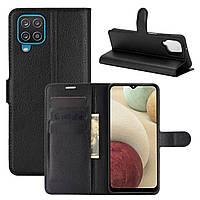 Чехол Fiji Luxury для Samsung Galaxy M12 (M127) книжка черный