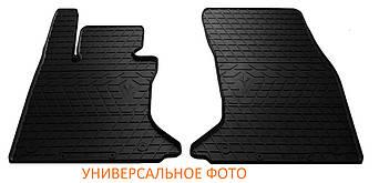 Коврики в салон резиновые передние для Audi A8 D3 (long/short) 2002-2009 Stingray (2шт)