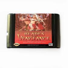 "Картридж sega ""Blades of Vengeance"""
