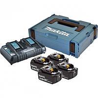 Набір акумуляторів LXT (BL1840Bx2, DC18RD, Makpac (197503-4)