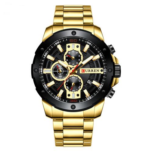 Curren 8336 Gold-Black
