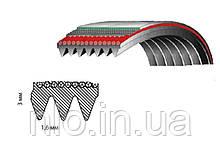 Ремінь 1270 J3, Samsung 6602-001073, (поліуретан)