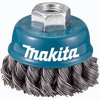 Чашечная щетка c витой проволки 60 мм Makita (D-24119)