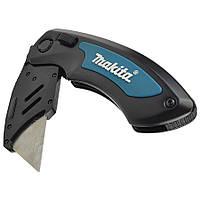 Нож монтажный складной (10 дополнительных лезвий) Makita (P-90548)
