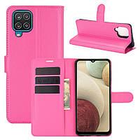 Чехол Fiji Luxury для Samsung Galaxy M12 (M127) книжка розовый