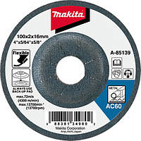 Гибкий шлифовальный круг по металлу 115 мм Makita (B-18306)