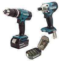 Набор инструментов Makita DLX2336SX2 (DHP453SFX8, DTD156Z, B-68323)