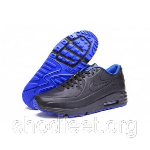 Мужские кроссовки Nike Air Max 90 Lunar SP Black/Blue