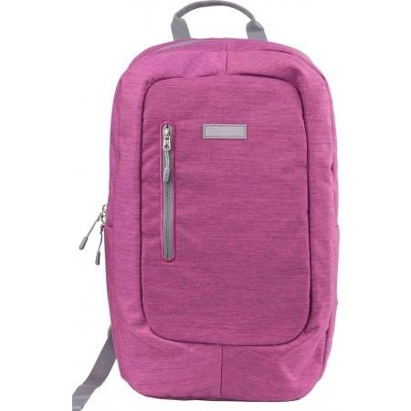 "Рюкзак для ноубука до 17"" Crossroad THEO 17 рожевий"