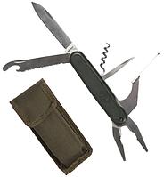 Кишеньковий мультитул Mil-Tec армії BW олива