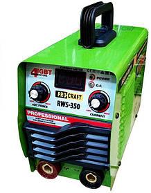 Инверторный сварочный аппарат PROCRAFT RWS-350