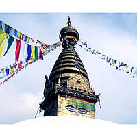 Тибетские флажки  / Лунгта (25 х 36 см.) - 5 флажков
