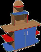 Стенка игровая 23. Мебель для школы. Мебель для детского сада