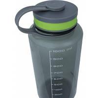 Пляшка для води Crossroad TEO 1000 - Eastman Tritan - BPA free, polypropylen, silikon (сіра)