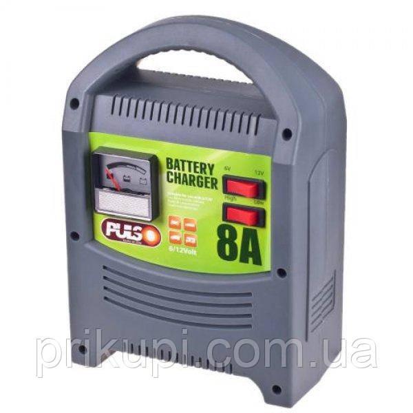 Зарядний пристрій Pulso BC-15121 для автомобільного акумулятора 6-12В | 8A | 15-112Ач | стрілка