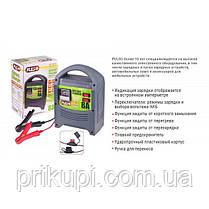 Зарядное устройство Pulso BC-15121 для автомобильного аккумулятора 6-12В | 8A | 15-112Ач | стрелка, фото 2