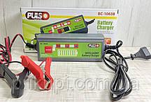 Зарядное устройство импульсное для автомобильного аккумулятора PULSO BC-10638 12V/4.0A/1.2-120AH /LCD, фото 3