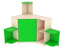 Стенка игровая 24 . Мебель для школы. Мебель для детского сада