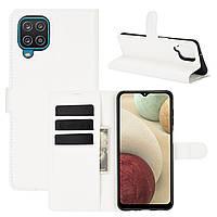 Чехол Fiji Luxury для Samsung Galaxy M12 (M127) книжка белый