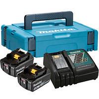 Набор аккумуляторов LXT (BL1840x2, DC18RC, Makpac1 (197494-9)