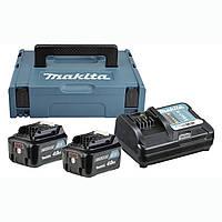 Набор аккумуляторов СXT Makita BL1040Bx2, DC10SA, Makpac 1 (197636-5)