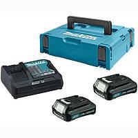 Набір акумуляторів СХТ Makita BL1015x2, DC10SA 10,8 (197653-5)