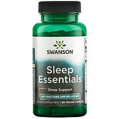 Swanson Sleep Essentials, Комплекс для сну (60 капс.)
