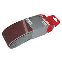 Набор шлифовальных лент 76х457 мм К60/80/120 (3 шт.) (P-37166)