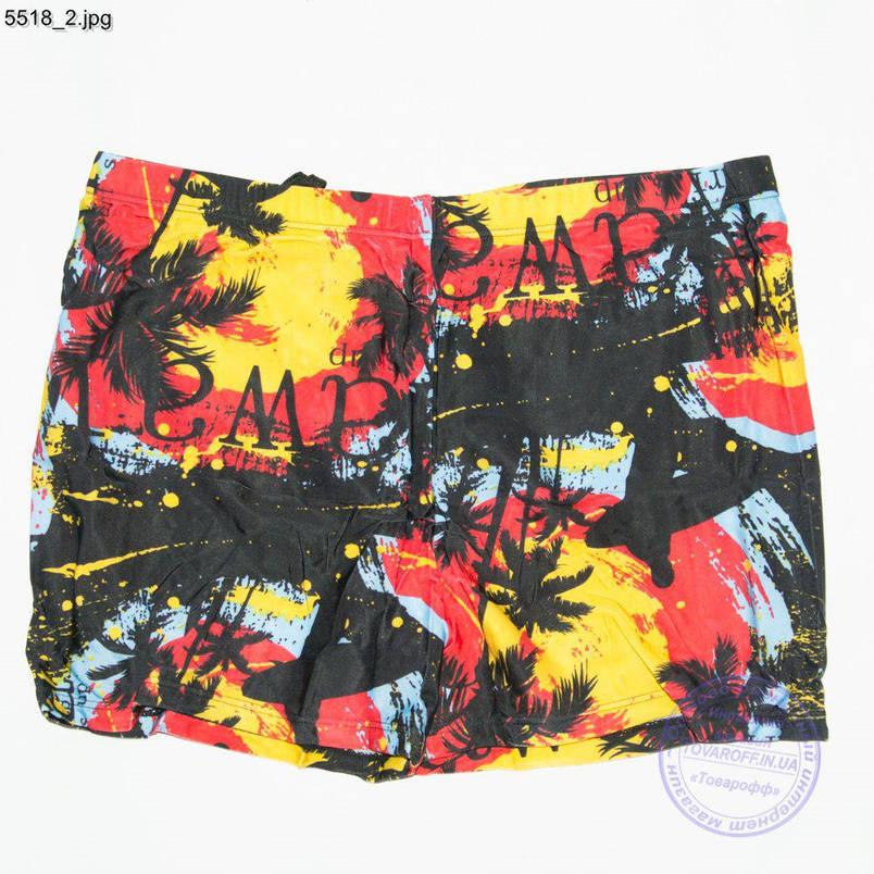 Чоловічі купальні боксери з пальмами 48-56р - 5518, фото 2