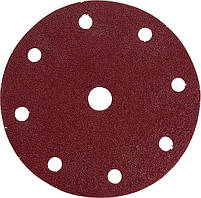 Набір шліфувального паперу на липучці 150 мм К40 9 отворів (50 шт.) Makita (P-32574)