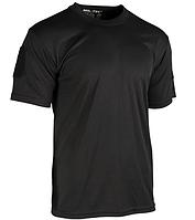 Тактическая потоотводящая футболка Mil-tec Coolmax цвет черный XL
