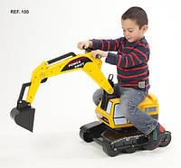 Детская машина-каталка Falk «Экскаватор» Excavator Power Shift (100)