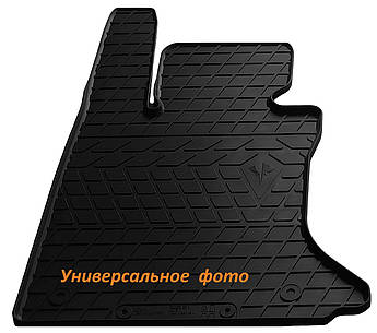 Водительский резиновый коврик для Audi A8 D3 (long/short) 2002-2009 Stingray