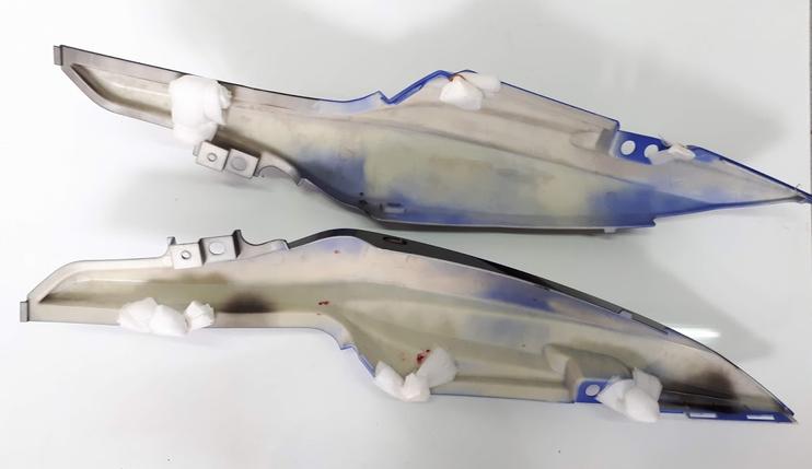 Viper - VM200-10 пластик - боковой задний левый, правый к-кт 2шт, ЧЕРНЫЙ, фото 2