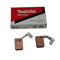 Угольные щетки MAKITA CB-318 с авто-отключением (GA5040C, 9562CH, 9562CR, 9562CVH, 9562CVR, 9565C/CV, 9565CLR,